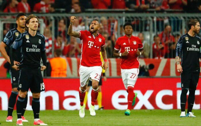 Champions League FC Bayern Munich vs. Real Madrid