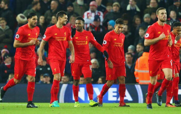 Liverpool - Stoke City Premier League