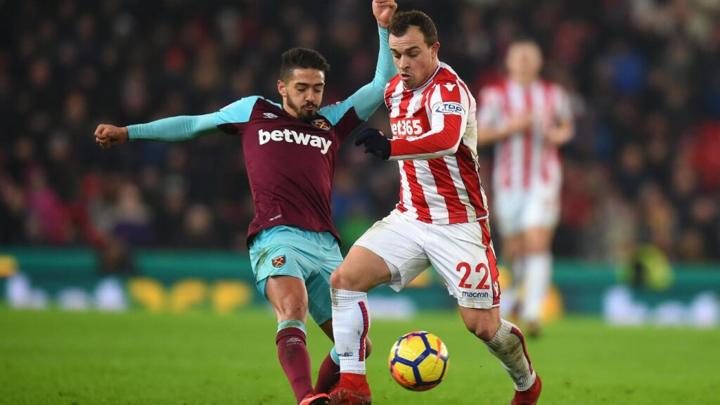 West ham vs. Stoke City Premier League