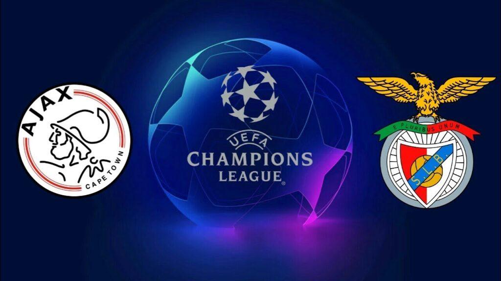 Champions League Ajax vs Benfica