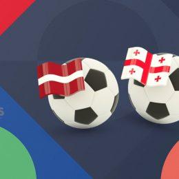 UEFA Nations League Latvia vs Georgia