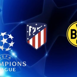 Champions League Atletico Madrid vs Borussia Dortmund