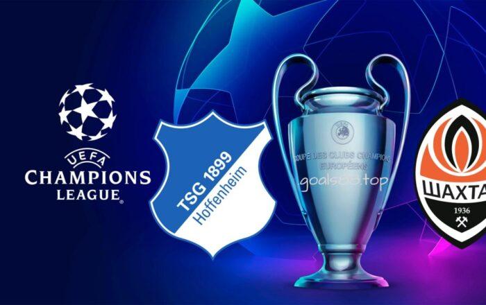 Champions League Hoffenheim vs Shakhtar Donetsk
