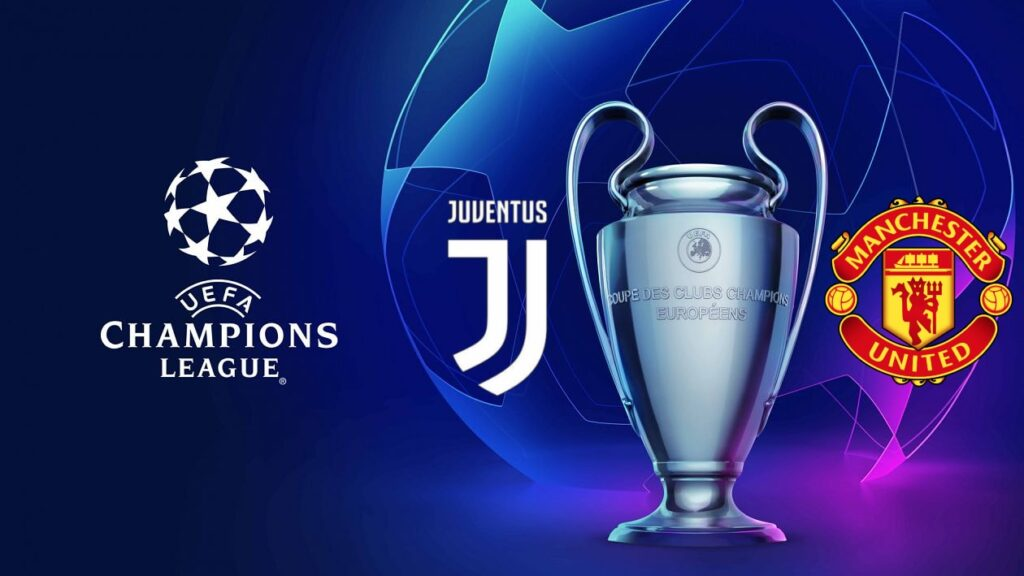 Champions League Juventus vs Manchester United