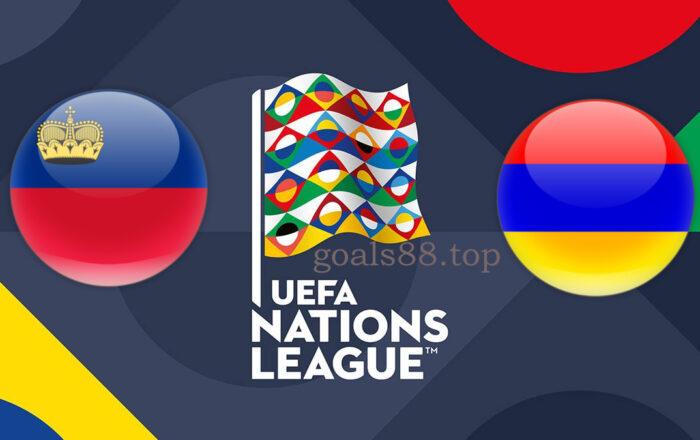 Liechtenstein vs Armenia UEFA Nations League