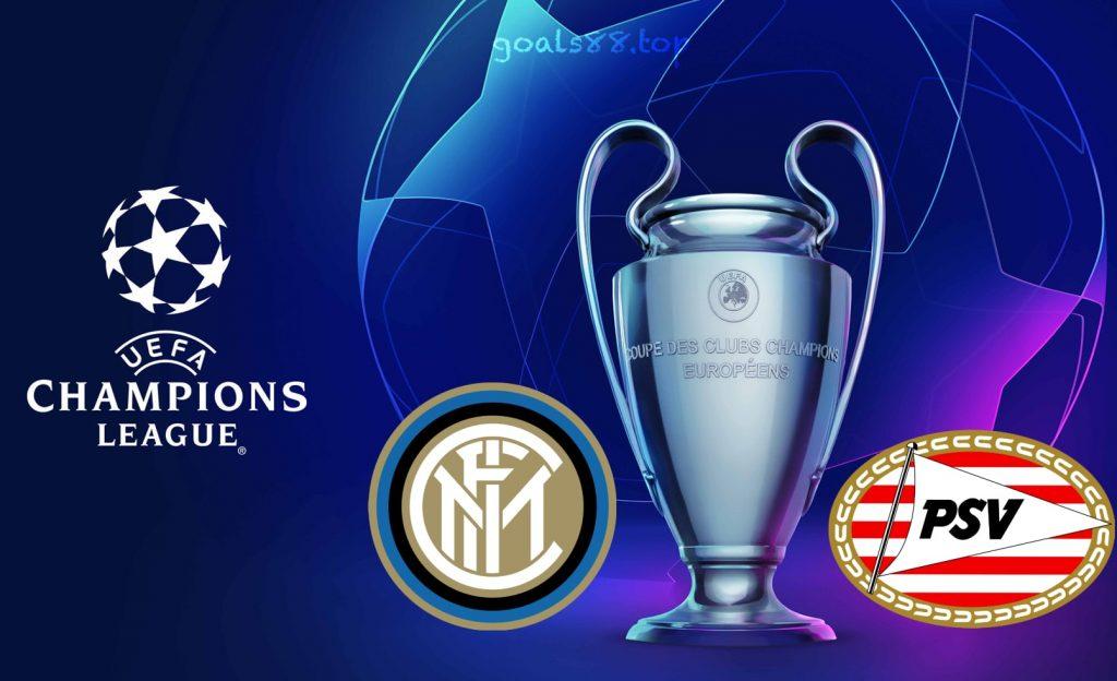 Inter Milan vs PSV Champions League