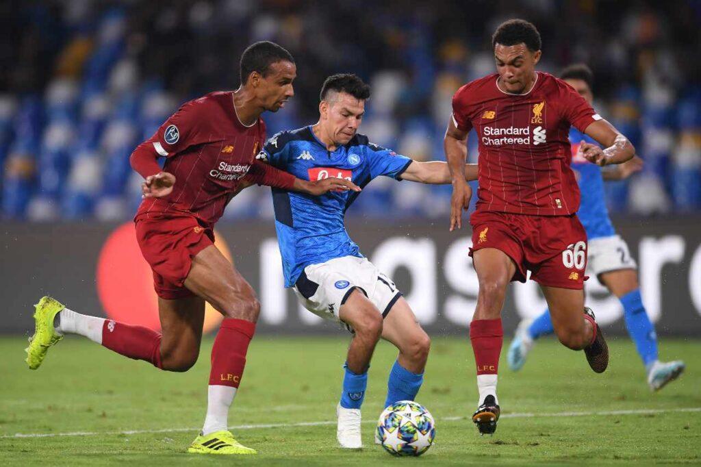 Liverpool FC vs Napoli Soccer Betting Tips