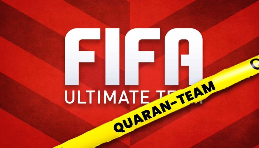 FIFA charity tournament with soccer players around the world