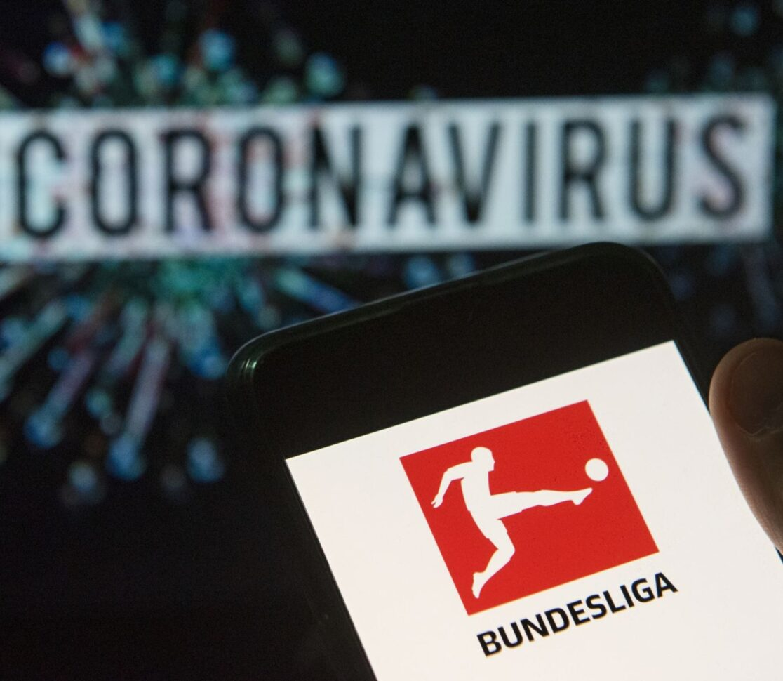 Will the Bundesliga be the first league to start again?